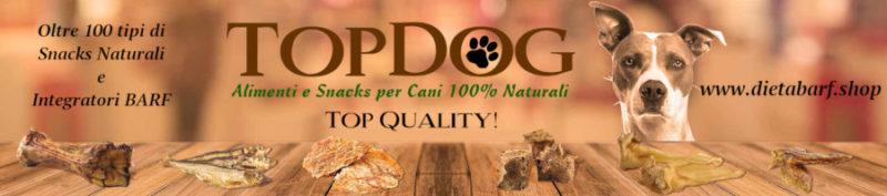 snacks naturali per cani e integratori barf